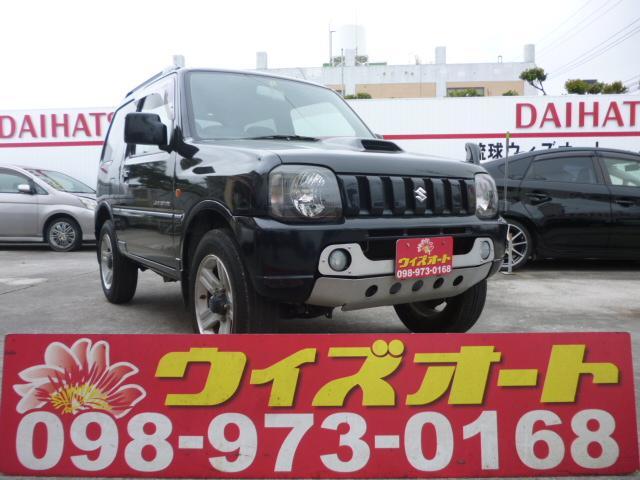 沖縄の中古車 スズキ ジムニー 車両価格 44万円 リ済込 2007(平成19)年 22.0万km ブラック