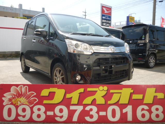 沖縄の中古車 ダイハツ ムーヴ 車両価格 44万円 リ済込 2013(平成25)年 9.0万km ブラック