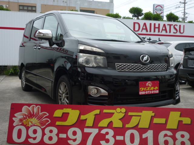 沖縄の中古車 トヨタ ヴォクシー 車両価格 52万円 リ未 2010(平成22)年 11.9万km ブラックM