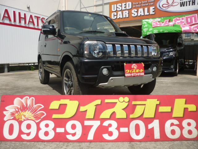 沖縄の中古車 スズキ ジムニー 車両価格 59万円 リ済込 2009(平成21)年 9.9万km ブラック