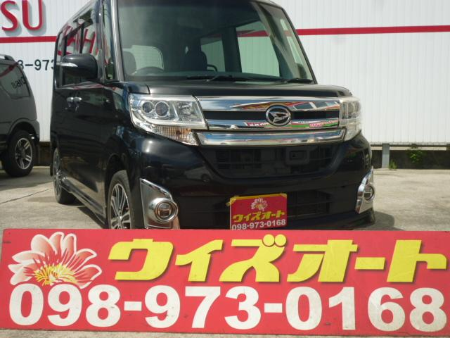 沖縄県の中古車ならタント カスタムRS トップエディションSA