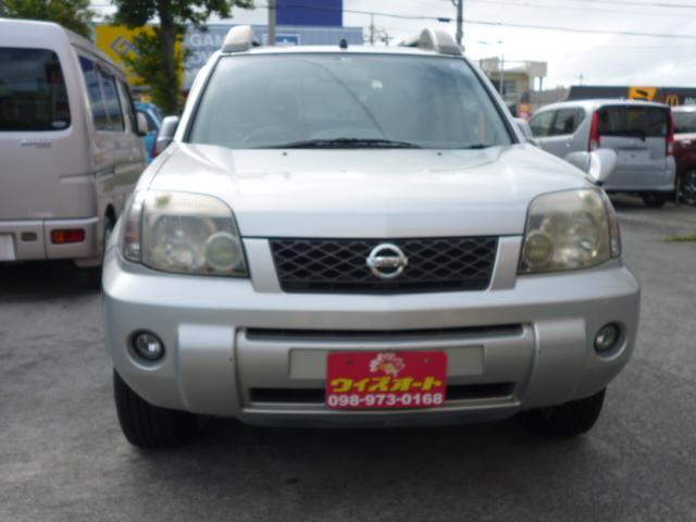 沖縄の中古車 日産 エクストレイル 車両価格 17万円 リ済込 2003(平成15)年 10.5万km シルバー