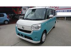沖縄の中古車 ダイハツ ムーヴキャンバス 車両価格 142万円 リ未 新車  パールホワイトIII×ファインミントメタリック