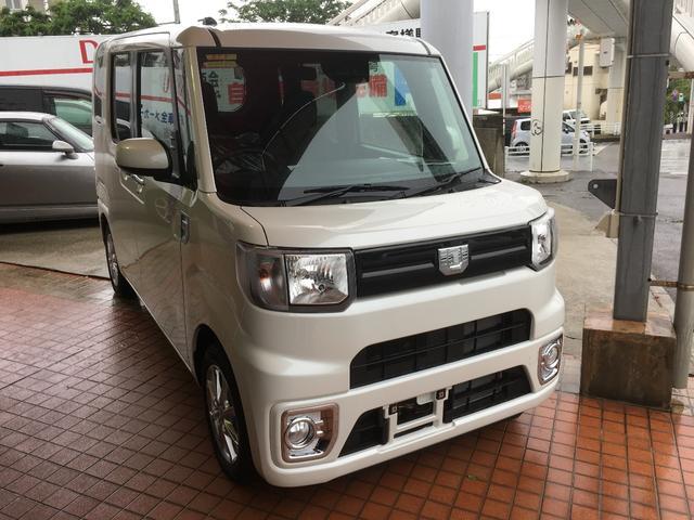沖縄の中古車 ダイハツ ウェイク 車両価格 155万円 リ済別 新車  パールホワイト