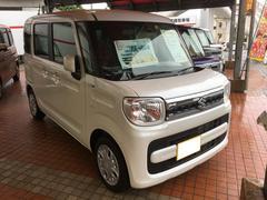 沖縄の中古車 スズキ スペーシア 車両価格 146.8万円 リ済別 新車  パールホワイト