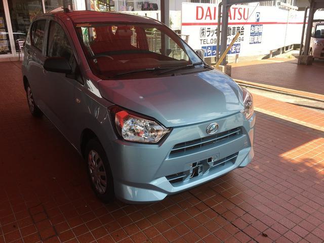 沖縄の中古車 ダイハツ ミライース 車両価格 87.4万円 リ済別 新車  ライトブルーM