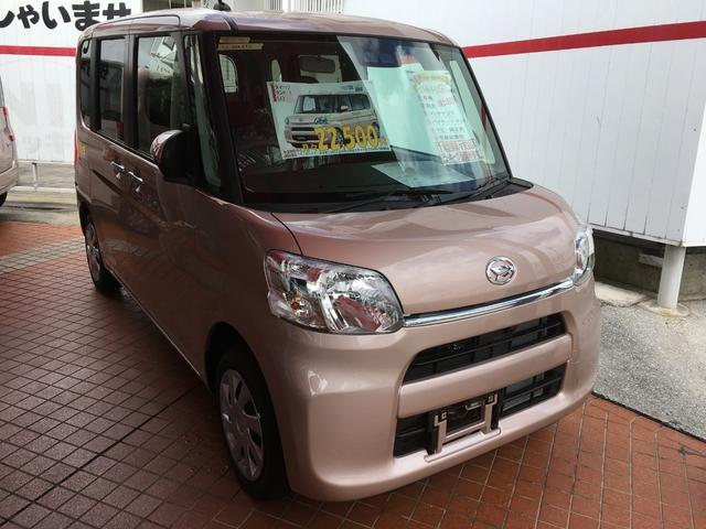 沖縄の中古車 ダイハツ タント 車両価格 142万円 リ済別 新車  ピンクM