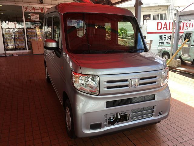 沖縄の中古車 ホンダ N-VAN 車両価格 138万円 リ済別 2018(平成30)年 10km シルバー