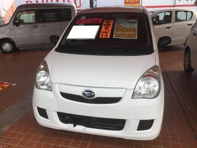 沖縄の中古車 ダイハツ ミラ 車両価格 43万円 リ済込 平成24年 8.6万km ホワイト