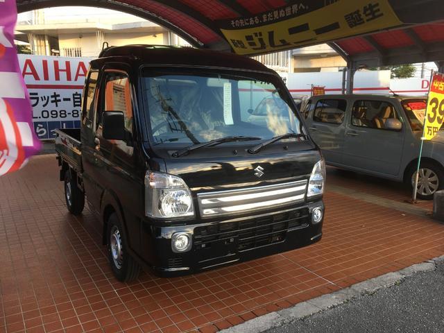 沖縄の中古車 スズキ スーパーキャリイ 車両価格 113万円 リ済別 新車  ブラックM