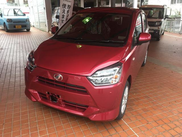 沖縄の中古車 ダイハツ ミライース 車両価格 122.5万円 リ済別 新車  レッドM