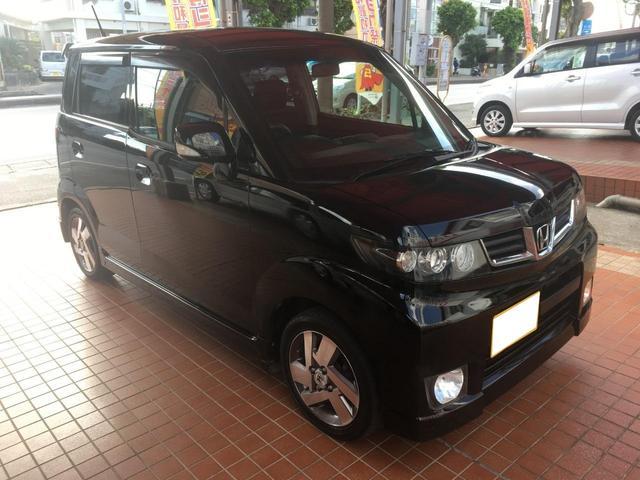 沖縄の中古車 ホンダ ゼストスパーク 車両価格 35万円 リ済込 2011(平成23)年 8.6万km ブラックM