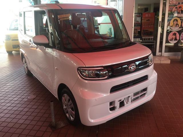 沖縄の中古車 ダイハツ タント 車両価格 158.9万円 リ済別 新車  パールホワイト