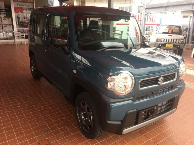 沖縄県の中古車ならハスラー ハイブリッドG 全方位付メモリナビOPカラー装備車