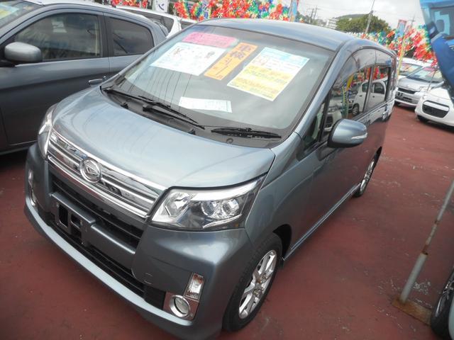 沖縄の中古車 ダイハツ ムーヴ 車両価格 83万円 リ済込 平成26年 2.5万km ガンM