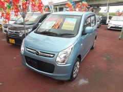 沖縄の中古車 マツダ フレア 車両価格 63万円 リ済込 平成25年 5.6万K ライトブルーM