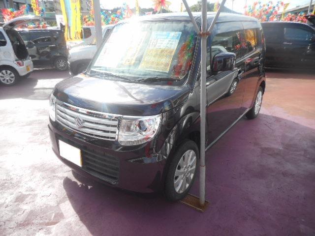 沖縄の中古車 スズキ MRワゴンWit 車両価格 80万円 リ済込 平成25年 8.1万km ミステリアスバイオレットパール