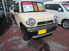 沖縄の中古車 スズキ ハスラー 車両価格 103万円 リ済込 平成29年 0.6万K シフォンアイボリー