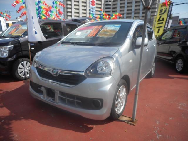 沖縄の中古車 ダイハツ ミライース 車両価格 52万円 リ済込 平成25年 5.4万km シルバーM