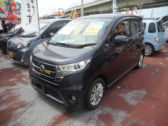 沖縄の中古車 日産 デイズ 車両価格 73万円 リ済込 2013(平成25)年 5.3万km ダークパープル