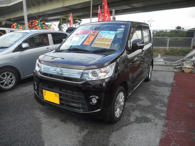 沖縄県の中古車ならワゴンRスティングレー X レーダーブレーキ搭載車