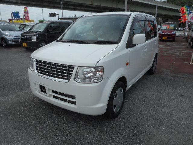 沖縄の中古車 三菱 eKワゴン 車両価格 43万円 リ済込 2012(平成24)年 6.3万km ホワイトM