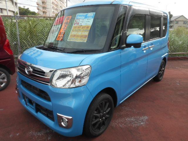 沖縄県の中古車ならタント Xターボ SA