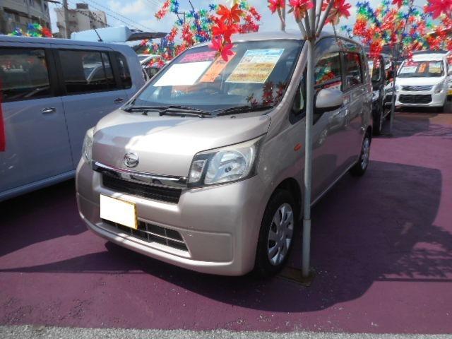 沖縄の中古車 ダイハツ ムーヴ 車両価格 55万円 リ済込 2013(平成25)年 6.2万km ピンクM
