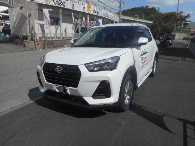 沖縄の中古車 ダイハツ ロッキー 車両価格 ASK リ済別 新車  シャイニングホワイトパール