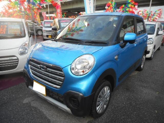沖縄の中古車 ダイハツ キャスト 車両価格 123万円 リ済込 2018(平成30)年 20km スプラッシュブルーメタリック