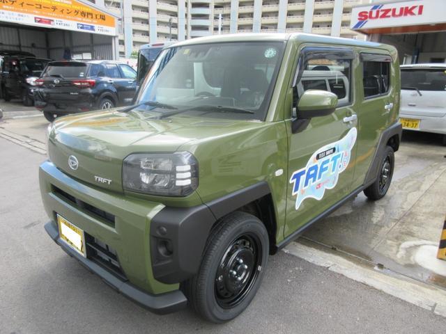 沖縄県島尻郡八重瀬町の中古車ならタフト X 試乗車