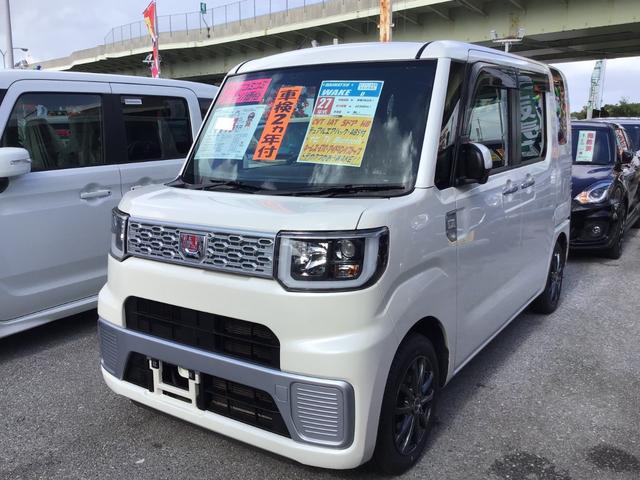 沖縄の中古車 ダイハツ ウェイク 車両価格 90万円 リ済込 2015(平成27)年 6.0万km パールホワイトIII