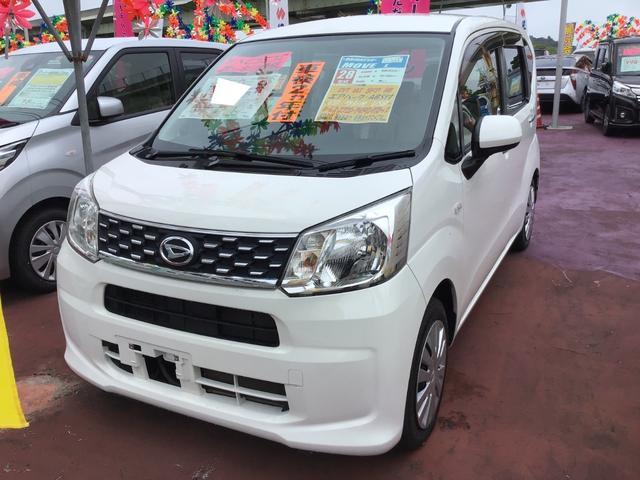 沖縄の中古車 ダイハツ ムーヴ 車両価格 73万円 リ済込 2016(平成28)年 4.0万km ホワイト