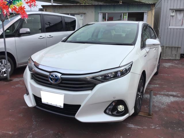 トヨタ SAI S Cパッケージ 純正ナビ/TV/Bluetooth バックガイドモニター ETC 新品レザーシートカバー