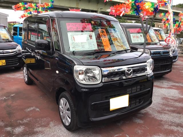 沖縄県の中古車ならフレアワゴン ハイブリッドXS 衝突被害軽減ブレーキ 両側パワースライドドア ナビ/TV/Bluetooth/DVD バックモニター