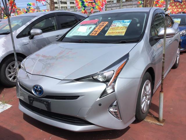 沖縄県の中古車ならプリウス S 純正ナビ/TV/Bluetooth バックカメラ ETC