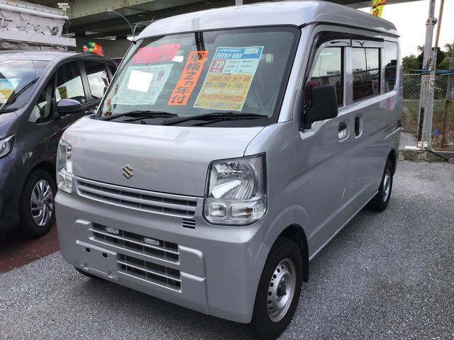 沖縄県の中古車ならエブリイ PC レーダーブレーキ装着車 キーレス パワーウィンド リアカメラ