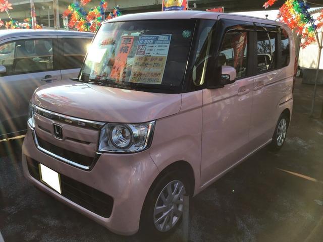 沖縄県の中古車ならN-BOX G・EXホンダセンシング ナビ/TV/DVD/Bluetooth バックモニター ETC 左側パワースライドドア