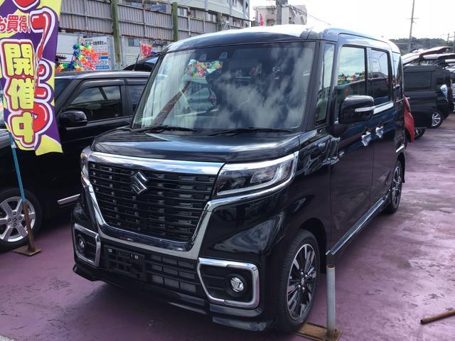 沖縄県の中古車ならスペーシアカスタム ハイブリッドXS 新車展示車