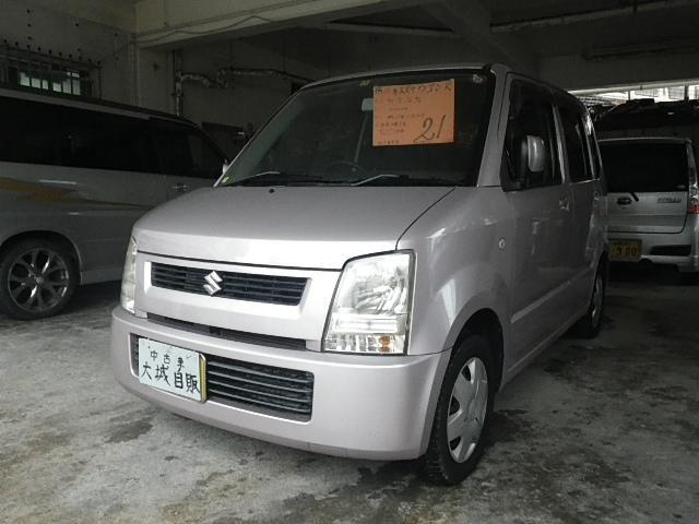 沖縄の中古車 スズキ ワゴンR 車両価格 20万円 リ済込 平成16後 10.3万km ピンク