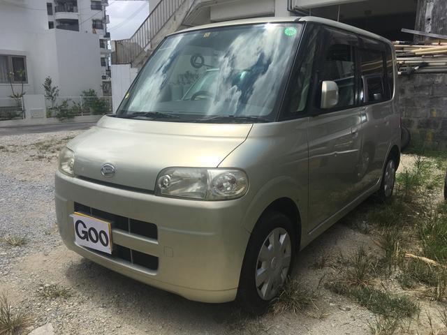 沖縄県の中古車ならタント R ターボ CD キーレス