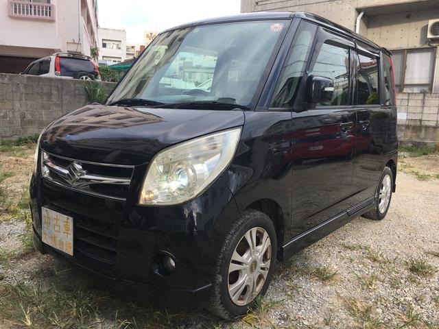 沖縄の中古車 スズキ パレット 車両価格 33万円 リ済込 平成21年 16.9万km ダークグレーM