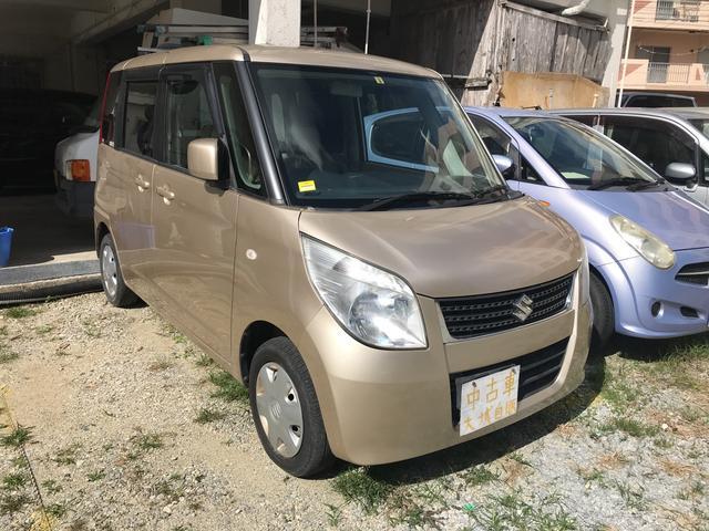 沖縄の中古車 スズキ パレット 車両価格 32万円 リ済込 平成21年 10.2万km ライトゴールドM