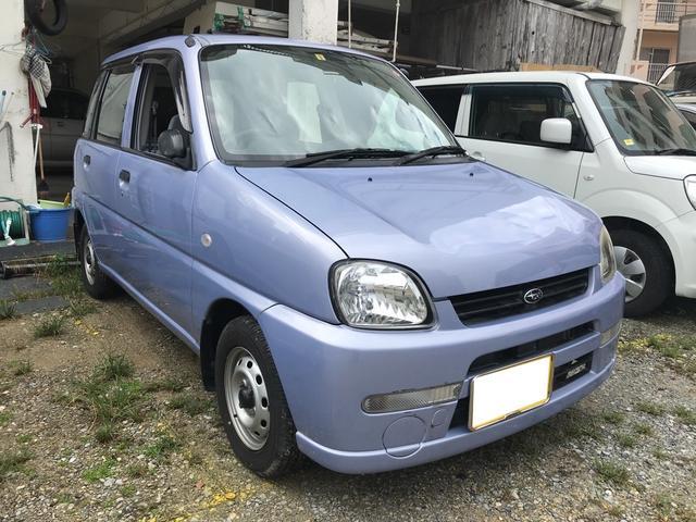 沖縄の中古車 スバル プレオ 車両価格 20万円 リ済込 2005(平成17)年 1.6万km ライトパープル
