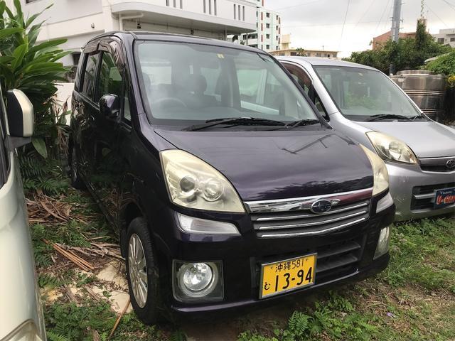 沖縄の中古車 スバル ステラ 車両価格 21万円 リ済込 2007(平成19)年 6.7万km パープル