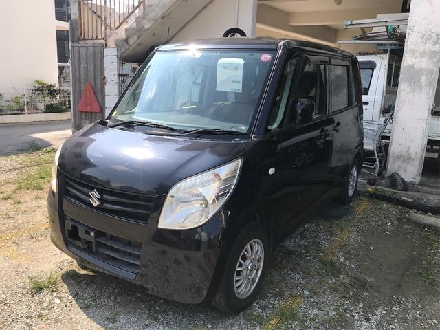 沖縄の中古車 スズキ パレット 車両価格 ASK リ済別 2010(平成22)年 8.7万km ブルーイッシュブラックパール3