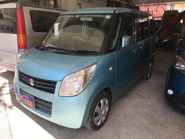 沖縄の中古車 スズキ パレット 車両価格 37万円 リ済込 2009(平成21)年 8.2万km ライトブルーM