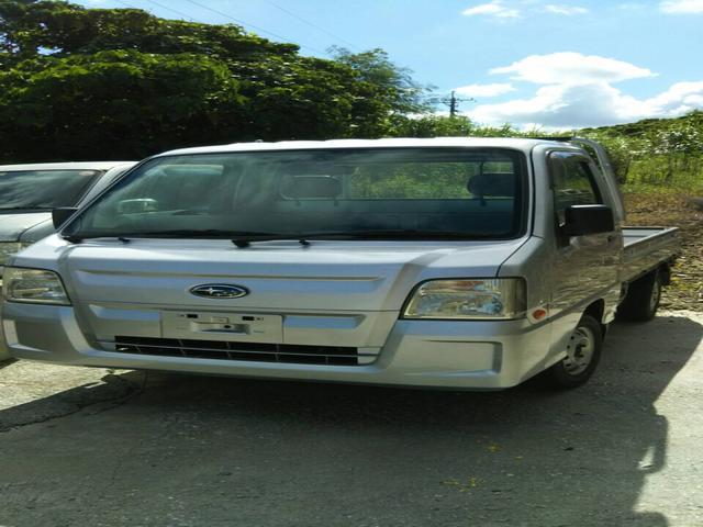 沖縄の中古車 スバル サンバートラック 車両価格 49万円 リ済込 2010(平成22)年 8.3万km シルバー