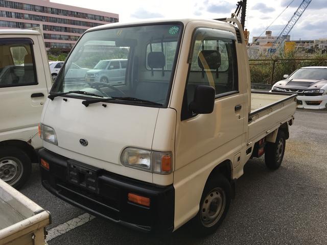 スバル スペシャル 5速マニュアル 4WD 三方開