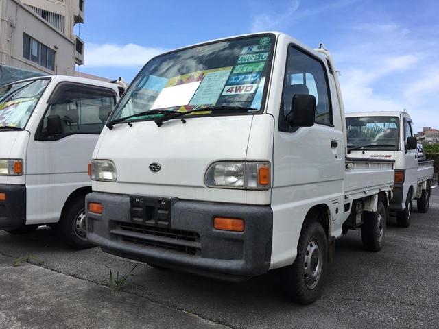 スバル スペシャル 5速マニュアル エアコン 4WD
